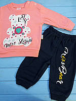 Трикотажний костюм для дівчинки Minix (9,12,18 міс.)