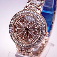 Женские часы с вращающимся циферблатом Chopard механизм Miyota Япония