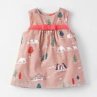 Платье сарафан детский для девочки Арктика 18мес-6лет