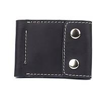 Кардхолдер-кошелек Black Brier с зажимом для купюр на кнопках P-16-35