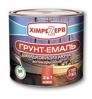 Грунт-эмаль шелковисто-матовый алкидные антикоррозионная 3в1 черный ( 0,8 кг )