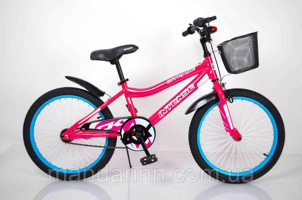 "Велосипед INTENSE 20"" N-200 Розовый-Неон"
