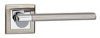 Дверные ручки LINDE A-2006 SN/CP - матовый никель/ хром