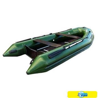 Надувная лодка Energy M370 (зеленая)