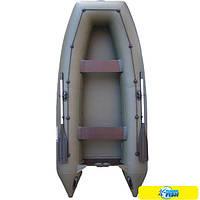 Надувная лодка Sportex Шельф 330S (зеленая)