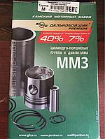 """Поршневой комплект Д-260 на 4 цилиндра. """"Дальнобойщик Premium"""" (оригинал КМЗ)"""
