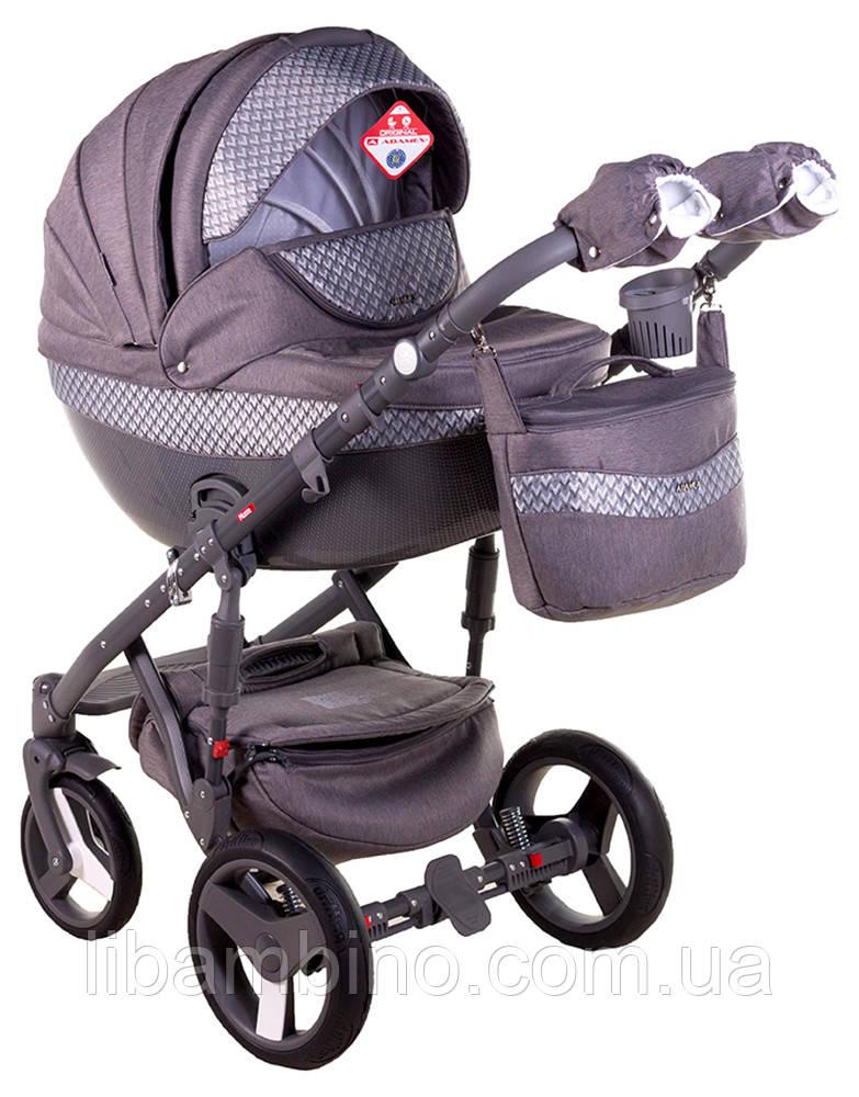 Дитяча коляска Adamex Monte Deluxe Carbon D28