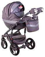 Дитяча коляска Adamex Monte Deluxe Carbon D28, фото 1