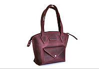 """Жіноча шкіряна сумка """"Pet"""" кожаная сумка ручної роботи, майстерня PalMar, натуральна шкіра"""