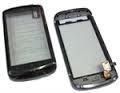 Панель передняя в сборе с тачем, синий для телефона Fly IQ280 код M011A009013