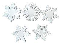 Заготовка для декорирования пенопласт Снежинка 150мм Дрим