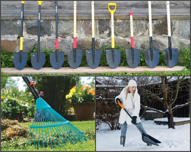 Разнообразие садового инструмента