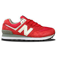 Женские кроссовки New Balance 574 Red
