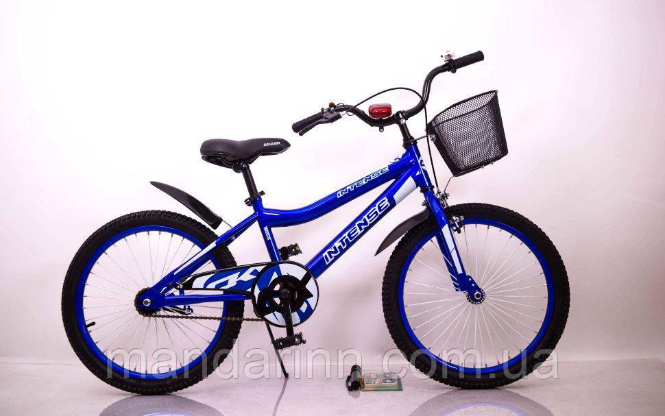 """Велосипед INTENSE 20"""" N-200 Синий"""