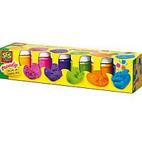 Гуашь Радуга (6 Цветов), В Пластиковых Баночках  Ses (0327S)