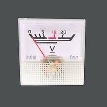 Стрелочный вольтметр постоянного тока 0 - 20 В