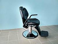 Кресло парикмахерское мужское для Барбершопа Barber черное DenIC professional