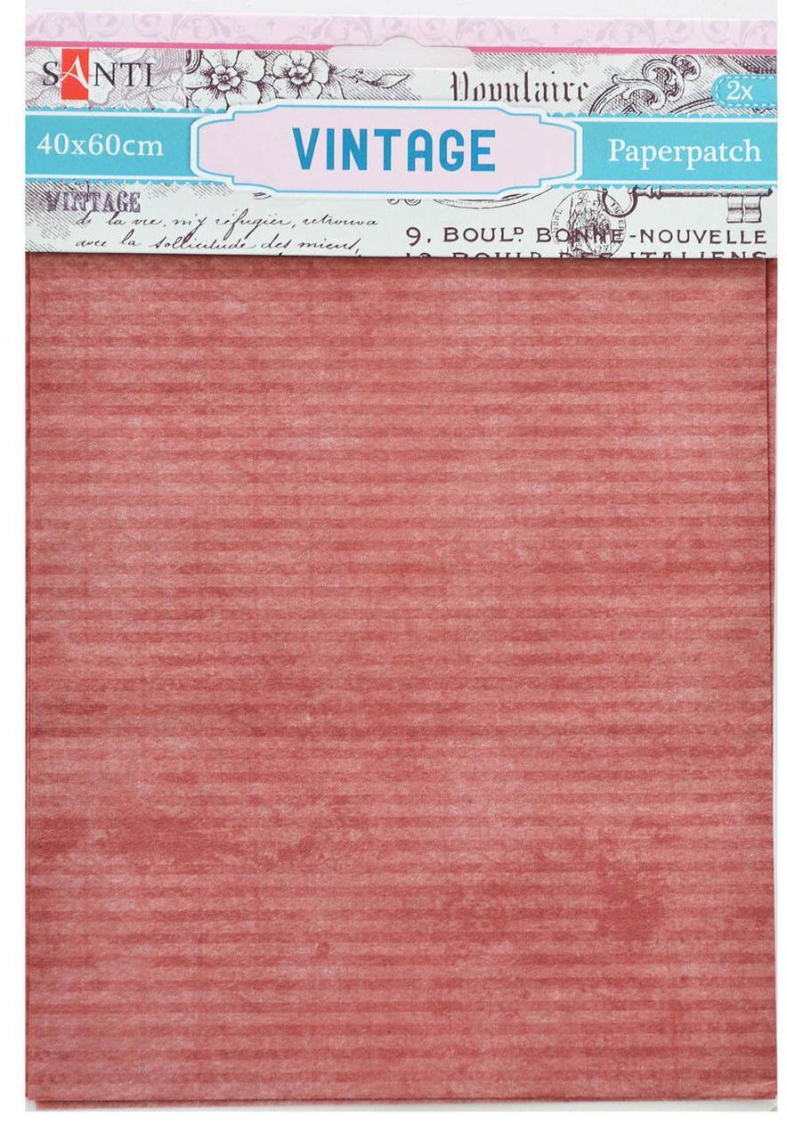 Декупажная карта-бумага 40*60см Santi 2л. Vintage 952487