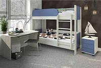Домино двухэтажная кровать