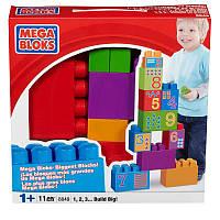 Mega Bloks Конструктор Изучаем цифры 1, 2, 3 build big