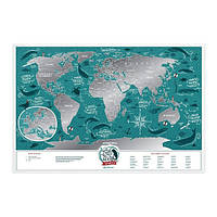 Скретч-карта Travel Map Marine World
