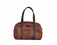 """Жіноча шкіряна сумка """"Travels"""" кожаная сумка ручної роботи, майстерня PalMar, натуральна шкіра"""