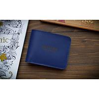 Бумажник FOLD Темно-синій