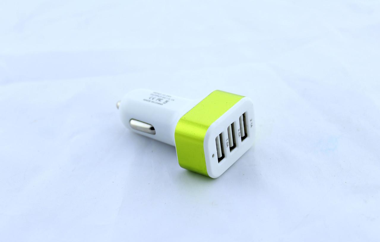 Адаптер CAR USB 3 USB