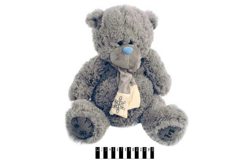 Мягкая игрушка Мишка Тедди музыкальный S-S38-3367А\35, сидячий 35 см