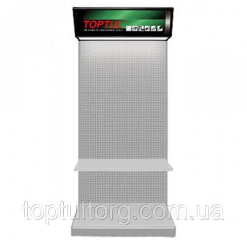 Стенд выставочный, часть3а (верхняя панель с логотипом и подсветкой )  TOPTUL TDAF2592