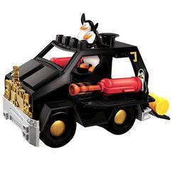П Большая Интерактивная машинка с пингвинами Fisher-Price Madagascar Luxury Extreme Assault Recreational Vehic