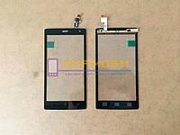 Тачскрин сенсор сенсорный экран Acer Liquid Z5 Z150 Черный
