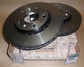 Передние тормозные диски на Рено Дастер, Дачиа Дастер 4х4 D=280мм/ Renault ORIGINAL 402060010R