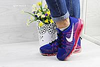 Кроссовки женские Nike Air Max 2017 синие с розовым