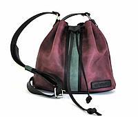 """Жіноча шкіряна сумка """"Bagful"""" кожаная сумка ручної роботи, майстерня PalMar, натуральна шкіра"""