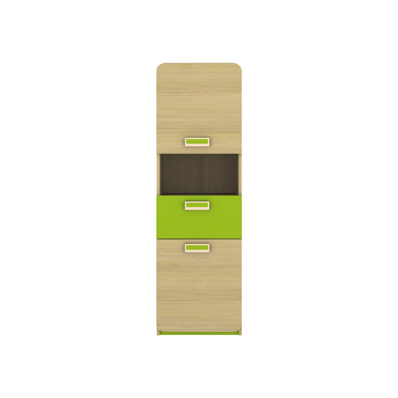 Пенал JASMINE D Blonski 2-х дверний коімбра+лайм