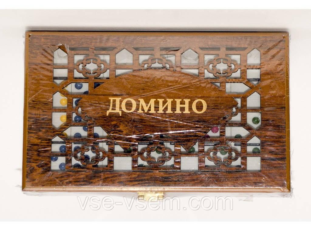 I5-60 Домино в подарочном деревянном сундуке.