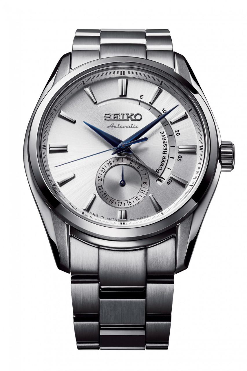 Часы Seiko Presage SSA303J1 Automatic 4R57 Power Reserve B.