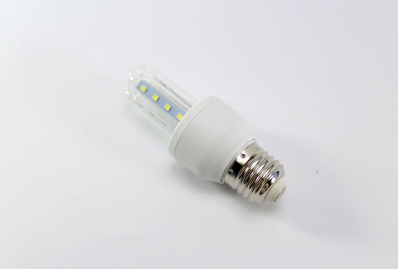 Лампочка LED LAMP E27 3W Длинная 4016  100