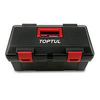 Ящик для инструмента  2 секции (пластик)  445(L)x240(W)x202(H)mm  TOPTUL TBAE0301