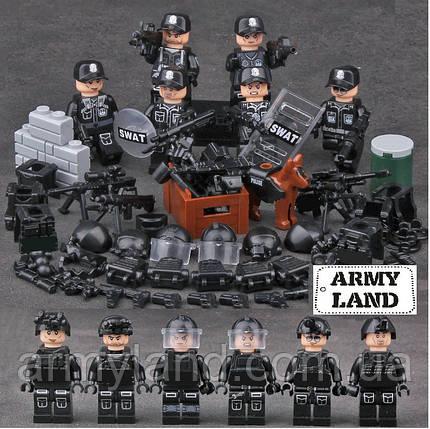 Отряд SWAT военный конструктор,BrickArms, фото 2