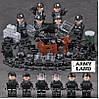 Отряд SWAT военный конструктор,BrickArms