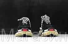 Женские кроссовки Balenciaga Triple S Баленсиага Трипл С черные, фото 3