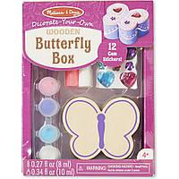 Набор для творчества Шкатулка-Бабочка  Melissa&Doug (MD8853)