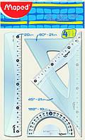 Линейки-набор 4пр Maped Smart Medium 20см 242820