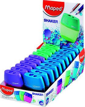 Точилка Maped Shaker двойная 534755