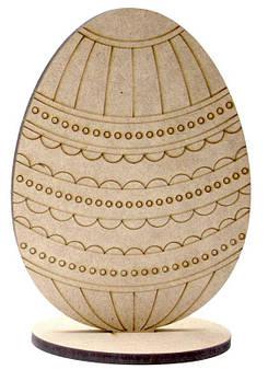 Заготовка для декорирования Rosa (МДФ 6мм) Яйцо-7 17*12,5 см 2806032