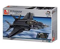 Конструктор Sluban Военно воздушные силы M38-B0510 Истребитель F-35 Молния