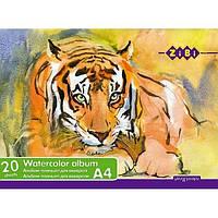 Альбом для акварели А4 ZiBi Планшет 20л. 200г/м ZB.1983
