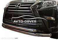 Двойной ус Lexus GX460 2013 - ...